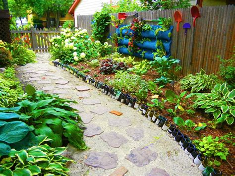 wine bottle garden budget friendly organic gardening hacks diy network