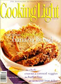 cooking light banana bread cooking light covers 50 99