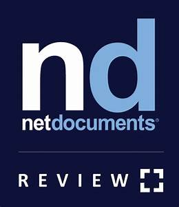 netdocuments review a brief review for law firms With cloud netdocuments