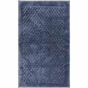 mohawk home laguna blue 20 in x 34 in bath rug 301537 With mohawk bathroom rugs