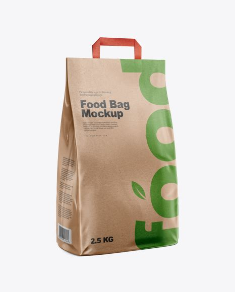 Contains special layers and smart objects for your work. Download Psd Mockup Bag Eco Food Grocery Half Side View ...