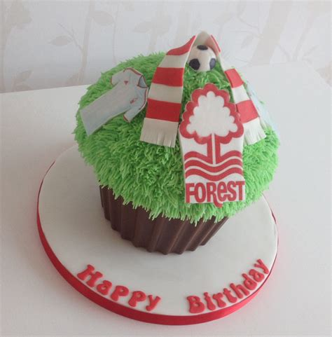 nottingham forest football giant cupcake cake ideas