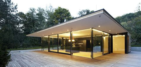 home plans for small lots modern glass house design