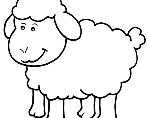 Cartoon Sheep Coloring Pages At Getcolorings.com
