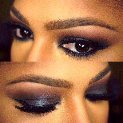 dark smokey eyeshadow  dark skin tone amazingmakeups