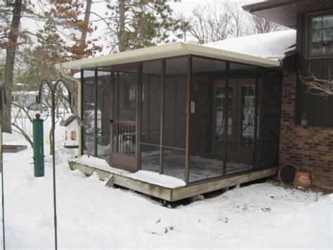 seasons sunrooms  northwest indiana screened room