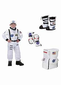 Nasa Astronaut Boys Costume Boots Gloves and Backpack Set ...
