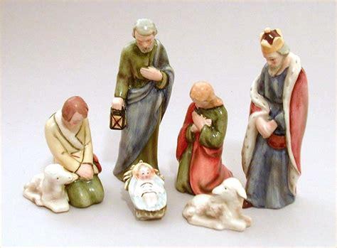 sacrart nativity hx82 vintage of 6 goebel sacrart nativity figures hx 82 the