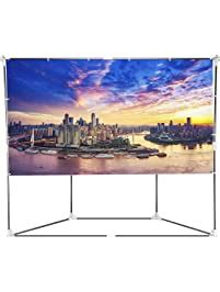 projection screens amazoncom