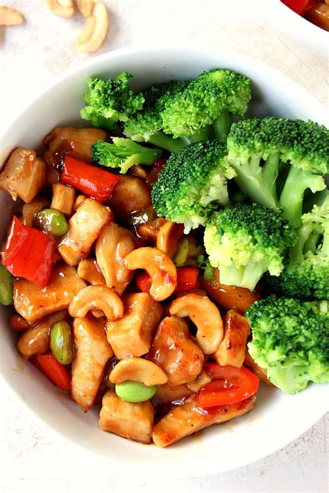 quick and easy cashew chicken recipe crunchy creamy sweet