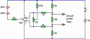 Connection Tester Circuit Diagram