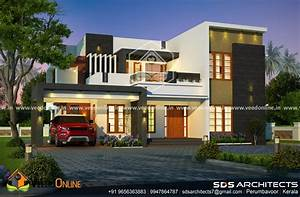 2758, square, feet, double, floor, contemporary, home, design