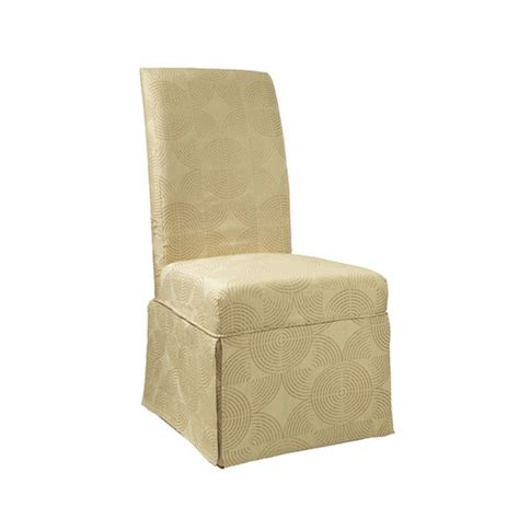 Skirted Parson Chair Covers by Powell Circle Parson Chair Skirted Slipcover Reviews