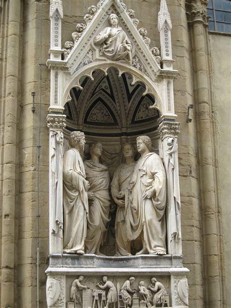 Nanni Di Banco Nanni Di Banco Les Quot Quatre Saints Couronn 233 S Quot Statues Des