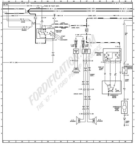 1970 Ford F600 Wiring Diagram by 1972 Ford Truck Wiring Diagrams Fordification