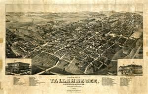Tallahassee 1885 Map of Florida