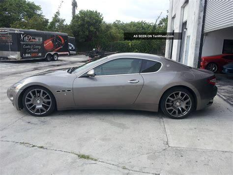 Maserati Granturismo Coupe by 2008 Maserati Granturismo Coupe 4 2l V8 Great Driver