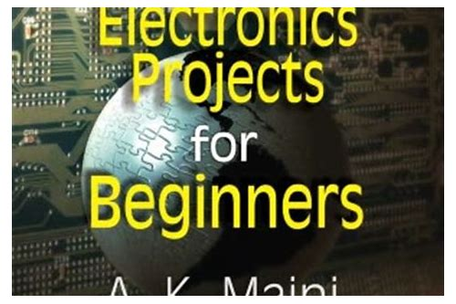 electronic projects for beginners pdf download