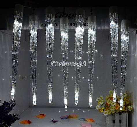 dripping icicle outdoor christmas lights led icicle light tube dripping indoor outdoor christmas