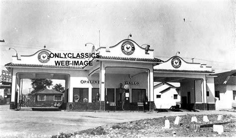 1920 Vintage Sinclair Gas Station Art Deco Pump Oil Can