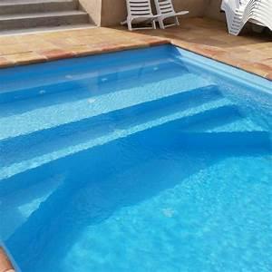 Coque Piscine Espagne : piscine coque polyester salou escalier plage distripool ~ Melissatoandfro.com Idées de Décoration