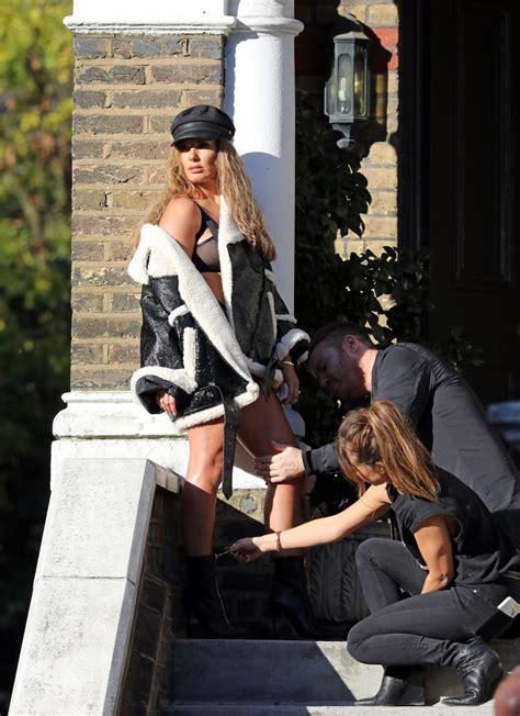 rebekah vardy photoshoot london