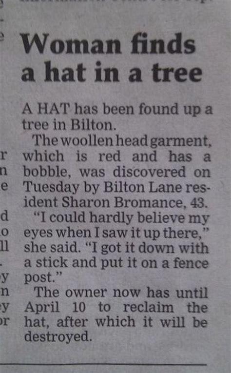 weird newspaper headlines   unintentional  funny barnorama