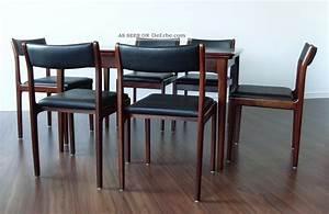 Esstisch Stühle Design : 70er palisander rosewood esstisch 6 st hle mid century danish teak design ~ Frokenaadalensverden.com Haus und Dekorationen
