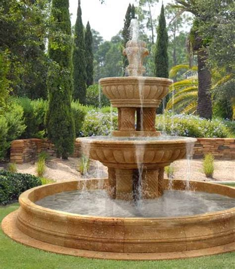 Water Fountains, Front Yard And Backyard Designs Outdoor