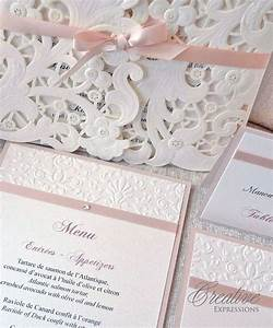 69 best wedding invitations images on pinterest bridal With laser cut wedding invitations montreal