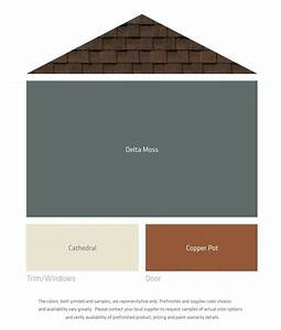 30 best exterior paint colors for brown roof images on ...
