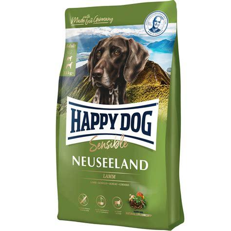 happy dog supreme  neuseeland lamm hunde