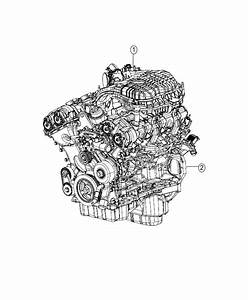 2015 Dodge Journey Crossroad 3 6l V6 A  T Engine  Complete