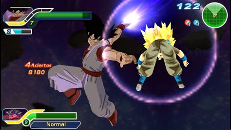 dragon ball ppsspp ultimate tenkaichi iso mod v9 android textures game settings play screenshots games psp movgamezone