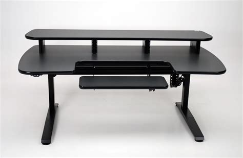 Ergo Cascade Height Adjustable Desk With Keyboard Section