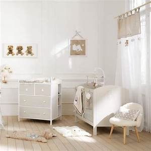 idee deco chambre fille blog deco clem around the corner With chambre bebe beige et blanc