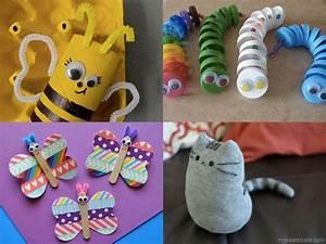 Bricolage A Faire Avec Des Petit : bricolages 10 brico animaux rigolos ~ Melissatoandfro.com Idées de Décoration