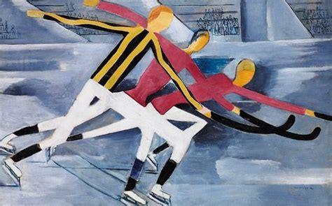 Per Krohg 1889 1965 Hockey 1918 Paper Drawing
