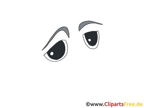traurige comic augen clipart bild zeichnung grafik