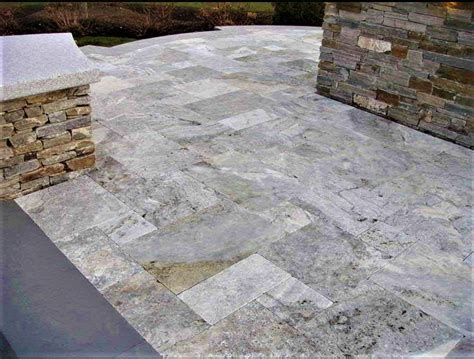 Oyster Silver Travertine Tiles And Pavers Are Available
