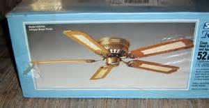 52 inch royal flush decorative ceiling fan u52sva cane