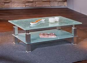 Table Basse Metal Verre : table basse design m tal et verre edge ~ Mglfilm.com Idées de Décoration