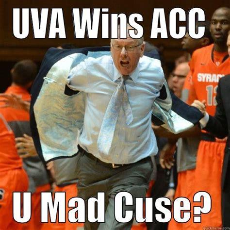 Syracuse Meme - uva beats syracuse quickmeme