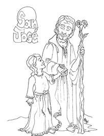 dibujo para colorear sanjose www evangelizacioncatolica org dibujos para colorear