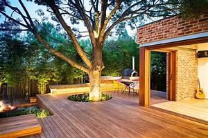 family fun modern backyard design for outdoor experiences With eclairage de terrasse exterieur