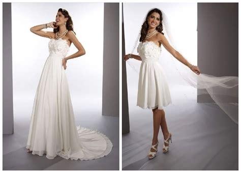whiteazalea sheath dresses convertible    wedding