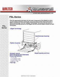 Waltco Fsl Series Liftgate By The Liftgate Parts Co