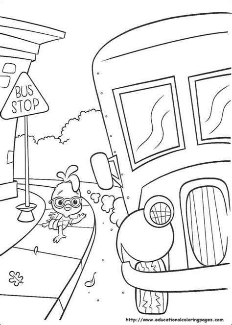 chicken  coloring pages educational fun kids