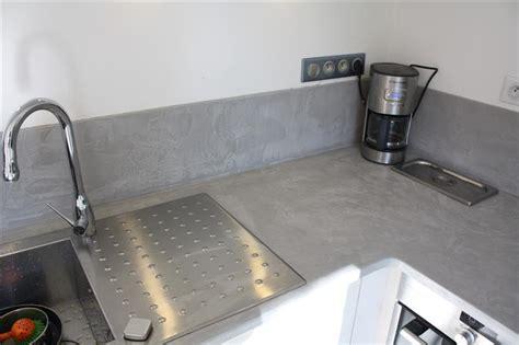 plan de travail cuisine belgique crédence plan de travail de cuisine ibéton gris