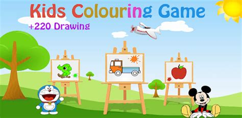 coloring book  kids drawing learning game  pc